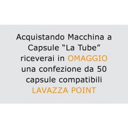 "Macchina per capsule ""La tube"" compatibile Lavazza Point"